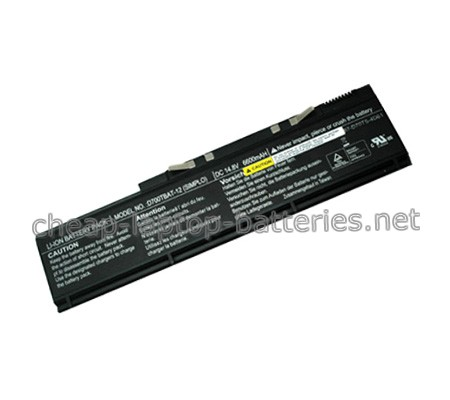 6600mAh Clevo d700tbat-12 Laptop Battery