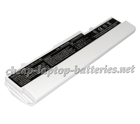 5200mAh Asus Eee Pc 1005ha-vu1x-Wt Laptop Battery
