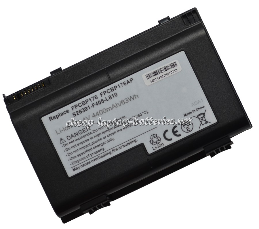 4400mAh Fujitsu Lifebook e8420la Laptop Battery