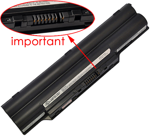 4400mAh Fujitsu Lifebook s761 Laptop Battery
