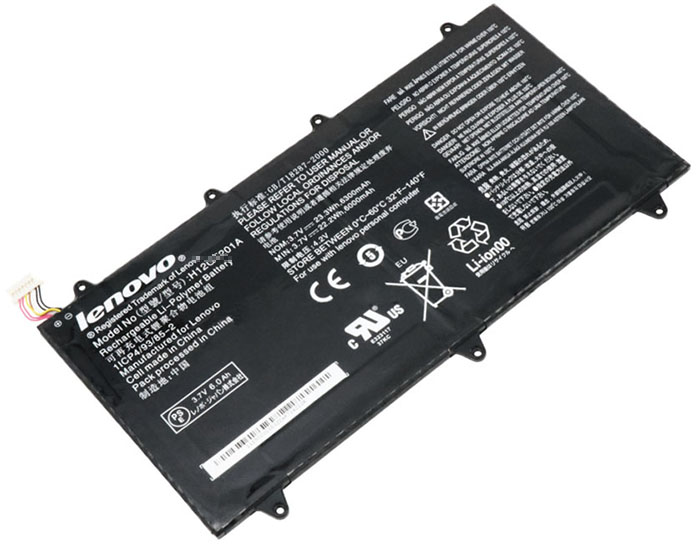 6300mAh Lenovo Ideatab a2109 Laptop Battery