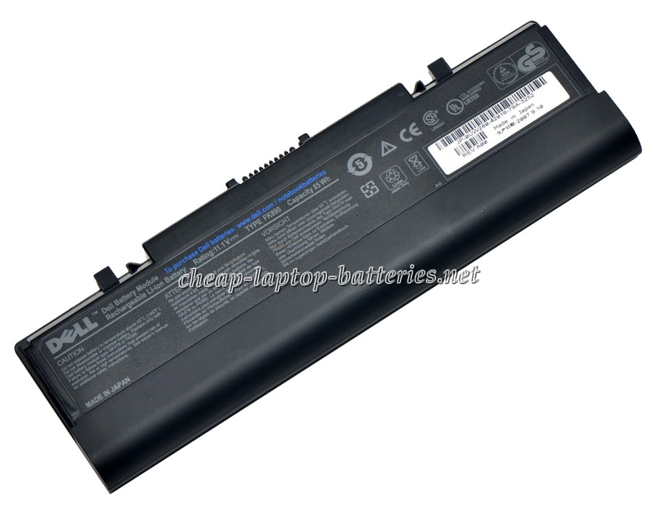 7800mAh Dell Inspiron 1520 Laptop Battery