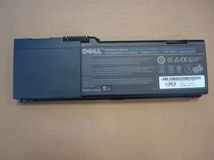 7800 mAh Dell 451-10424 Laptop Battery