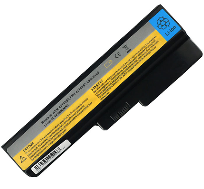 6600mAh Lenovo 42t4586 Laptop Battery