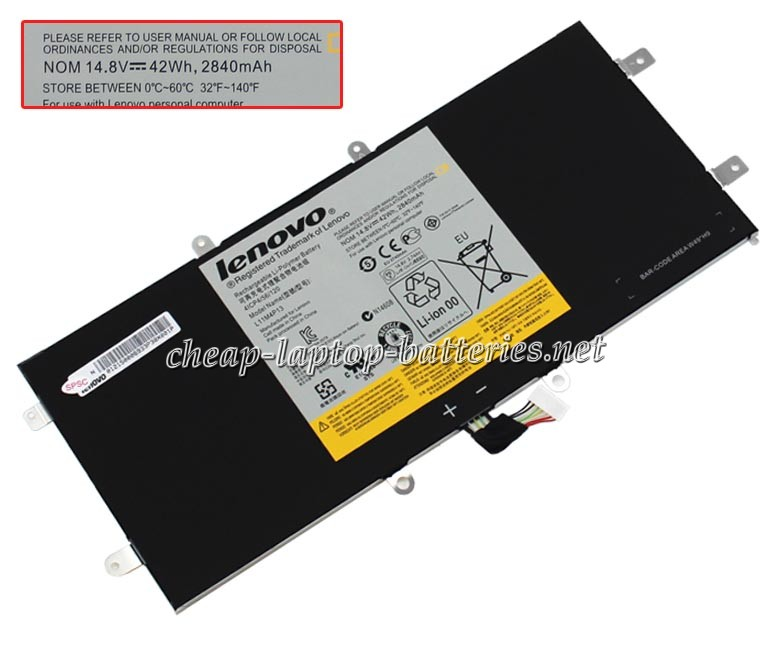 42Wh Lenovo Ideapad yoga11s-Ifi Laptop Battery