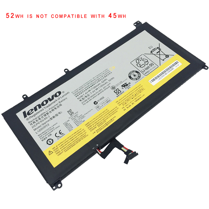 52Wh Lenovo Ideapad u330 Laptop Battery