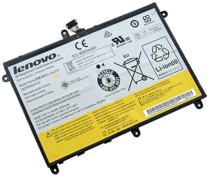 34Wh Lenovo Ideapad Yoga 2332 Laptop Battery