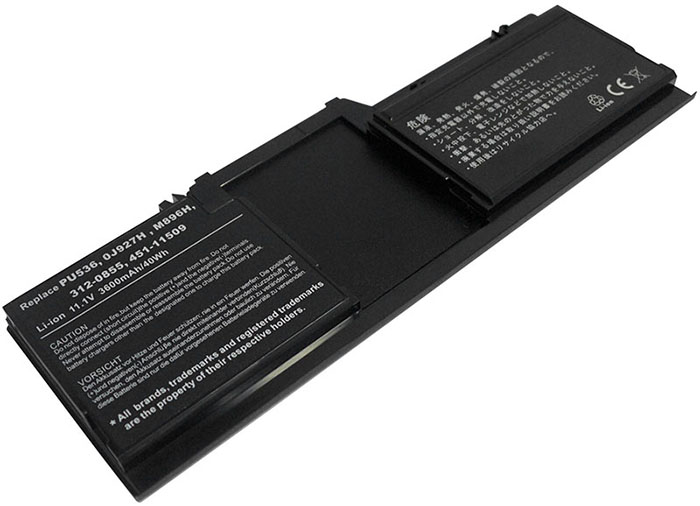 3600mAh Dell j927h Laptop Battery