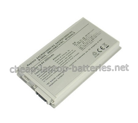 4400mAh Emachine m5108 Laptop Battery