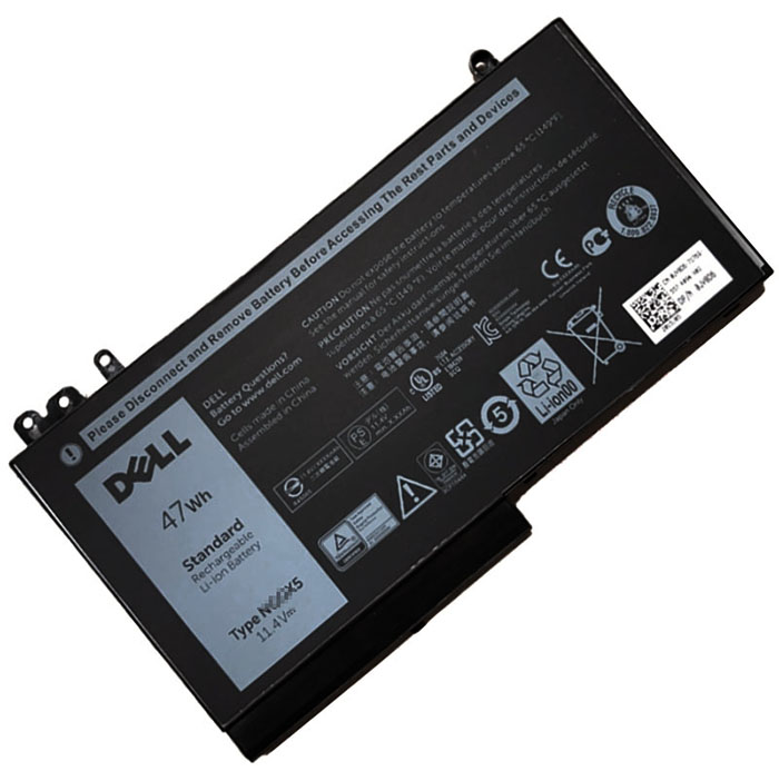 47Wh Dell 0nggx5 Laptop Battery
