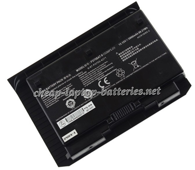 5900mAh Clevo x911 Laptop Battery