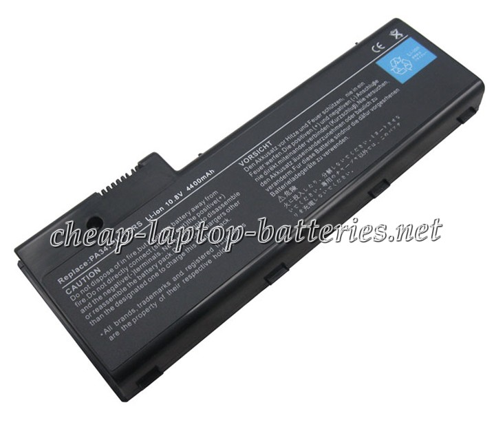 4400mAh Toshiba pa3479u1brs Laptop Battery