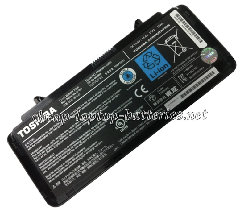 36.0WH  Toshiba Libretto w100 Laptop Battery