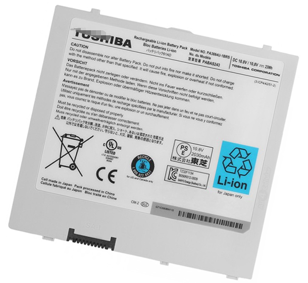 23Wh Toshiba at100-100 Tablet Pc Laptop Battery