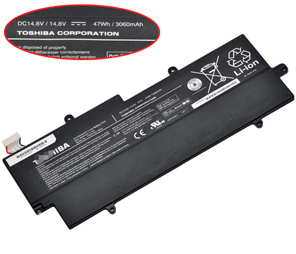 47WH Toshiba Portege z830-10t Laptop Battery
