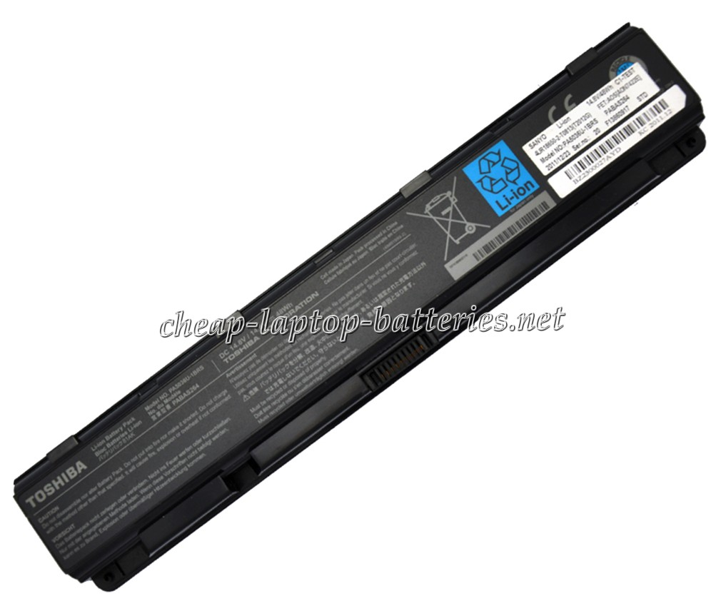 48.0Wh Toshiba Qosmio x870-143 Laptop Battery