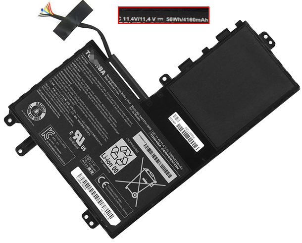 4160mAh Toshiba Satellite u40t-at01s Laptop Battery