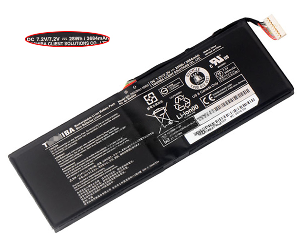 28Wh Toshiba Radius 11 l15w-b1302 Laptop Battery