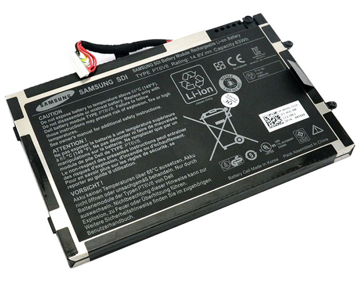 63Wh Dell Alienware m11x r2 Laptop Battery