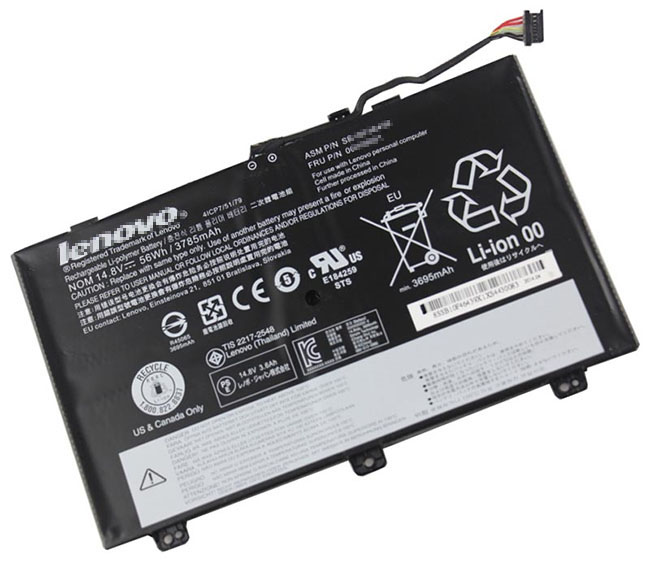56Wh Lenovo Thinkpad s3 20aya07fcd Laptop Battery