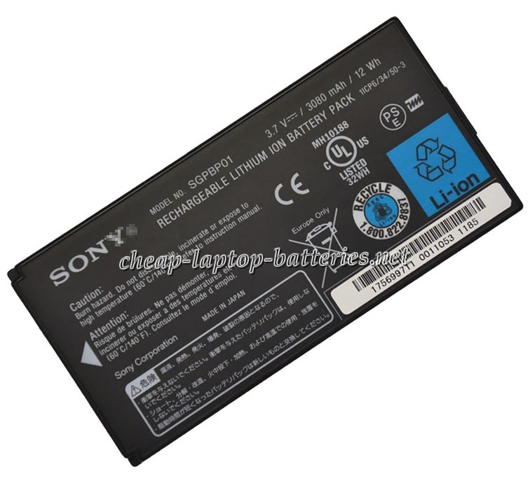 12Wh Sony sgpt213jp Laptop Battery
