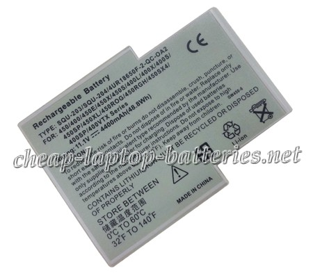 4400mAh Gateway Squ-204 Laptop Battery