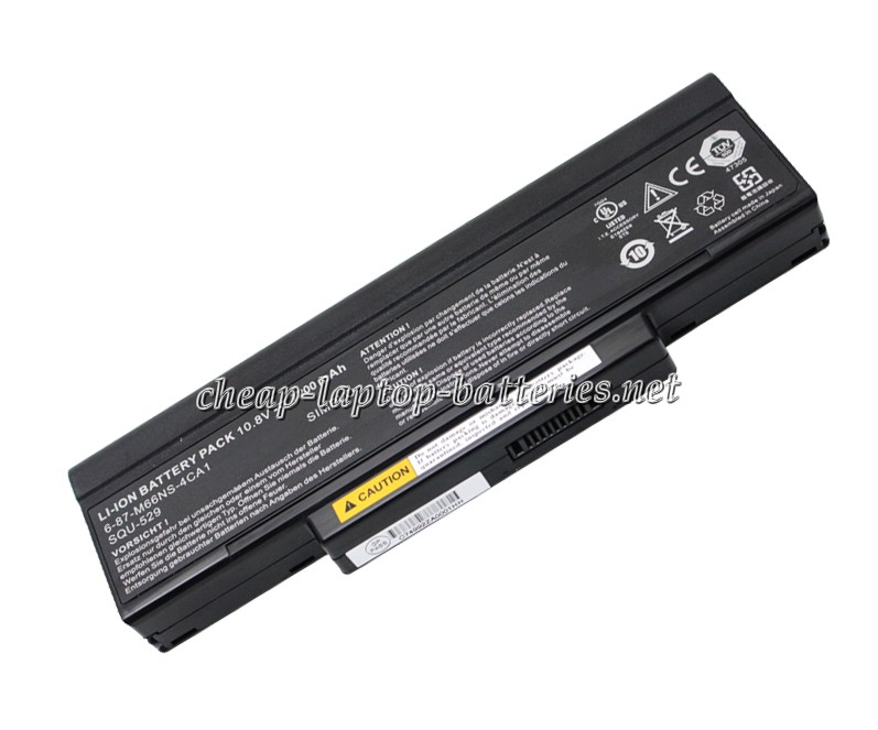 7200mAh Msi Ms-1651 Laptop Battery