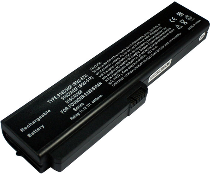 4400mAh Fujitsu Siemens Amilo Pro 564e1gb Laptop Battery