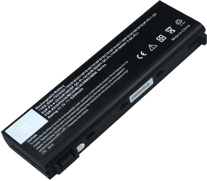 4400mAh Packard Bell Easynote mz35 Laptop Battery