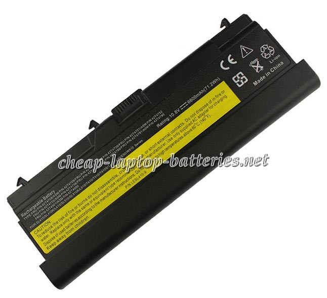 6600mAh Lenovo Fru 42t4755 Laptop Battery