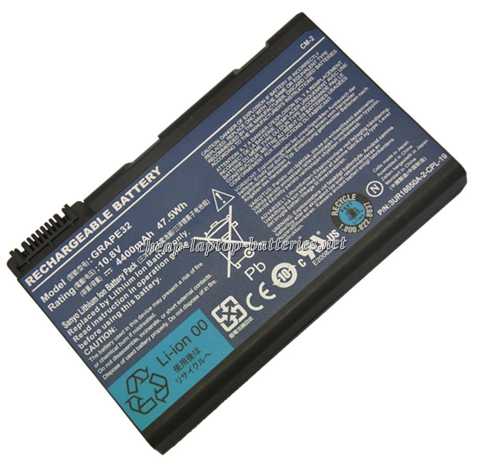 4400mah Acer Travelmate 5330-332g16mn Laptop Battery