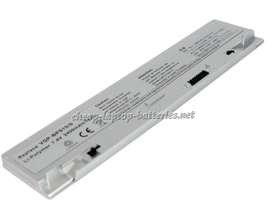 2400 mAh Sony Vaio Vgn-p35mk/Q Laptop Battery