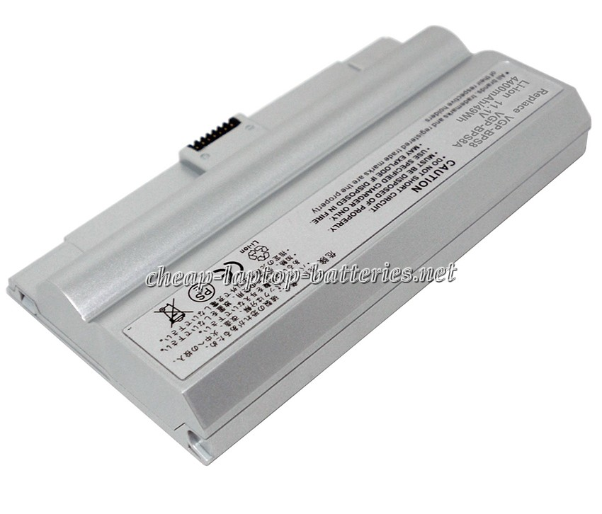 5200mAh Sony Vaio Vgn-fz25 Laptop Battery