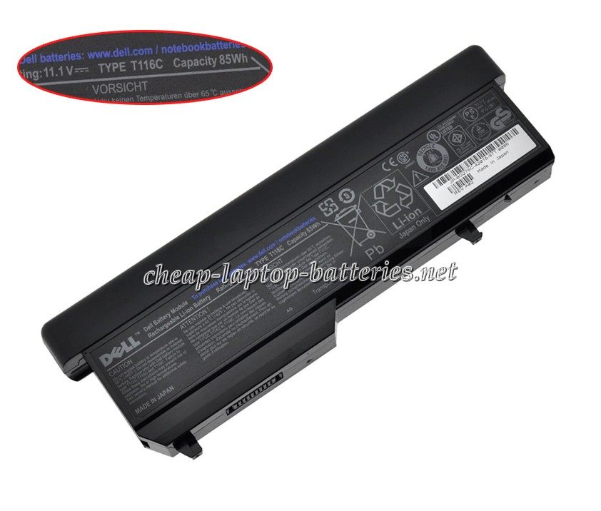 7800mAh Dell 451-10610 Laptop Battery