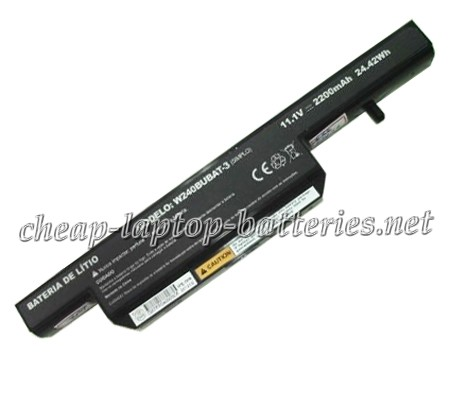 24.42Wh Clevo w251eu Laptop Battery