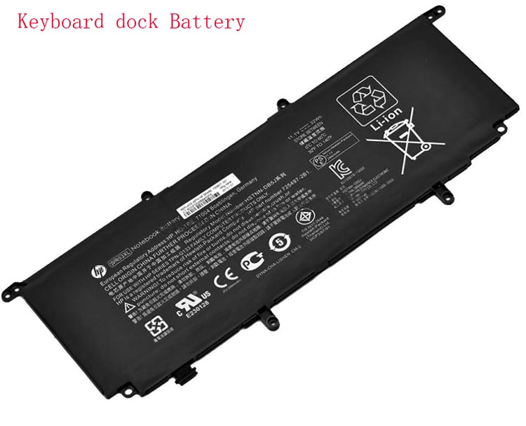 32Wh Hp 725497-1c1 Laptop Battery