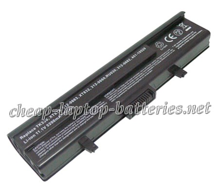 5200 mAh Dell 312-0662 Laptop Battery
